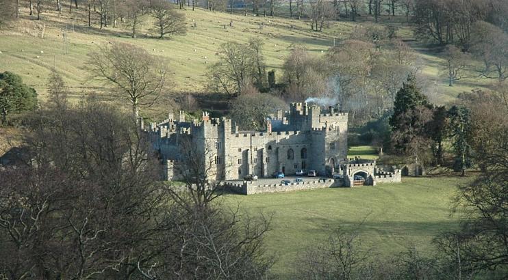 Featherstone Castle, Northumberland, England