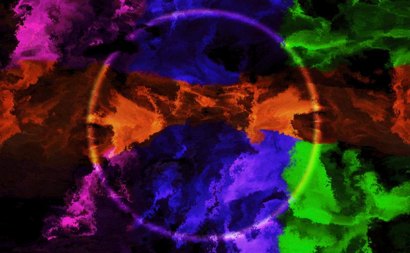Glastonbury Summer Solstice 2015 depicted in art.